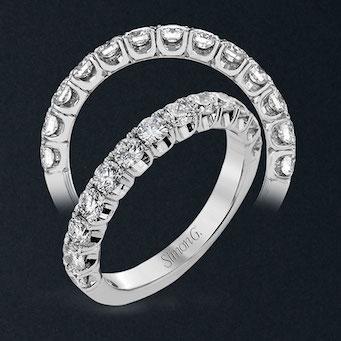 Simon G Wedding Rings