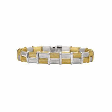 Henderson Collection Firenze Collection Brown Enamel Bracelet