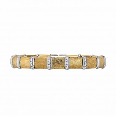 Henderson Collection B290-YGV-WGV Yellow and White Gold Bracelet