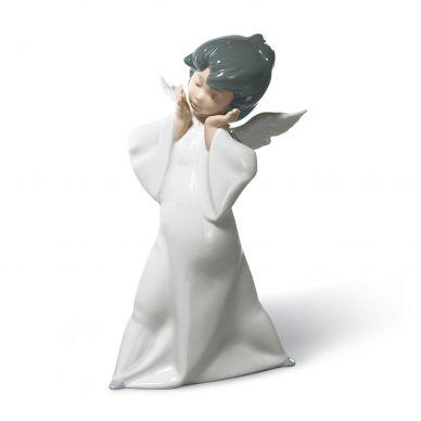 Lladro 01004959 Cherub Puzzled Figurine