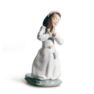 Lladro 01006089 Communion Prayer Girl Figurine
