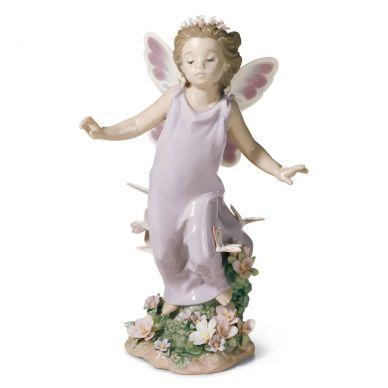 Lladro 1006875 Butterfly Wings Fairy Figurine
