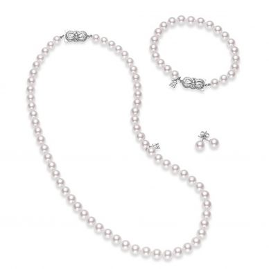 Mikimoto Gift Set of Pearls