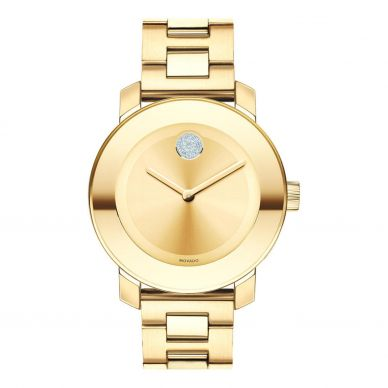 Movado Womens Mother of Pearl and Diamond Watch