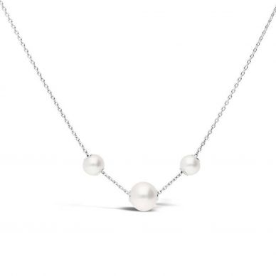 MPQ10081AXXW Mikimoto Pearl Station Necklace