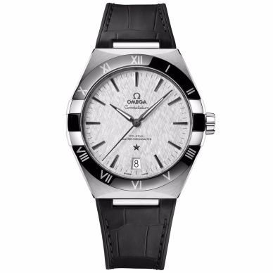 Omega Constellation Men's Watch Black and Gray