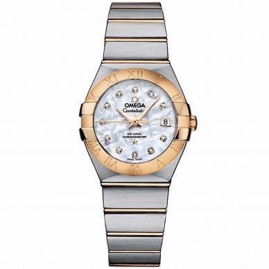 Omega Constellation Quartz Womens Watch 123.20.27.60.05.003