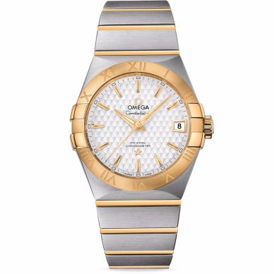 Omega Constellation Men's Two Tone Watch 123.20.38.21.02.009