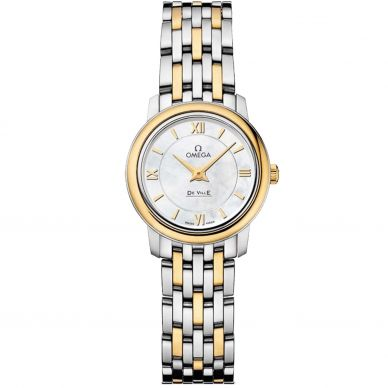 42410336052001 Omega Ladies Stainless Steel Butterfly Watch