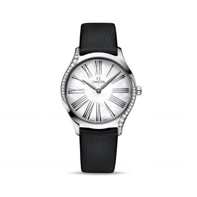 Omega 428.17.36.60.05.001 De Ville Tresor Womens Diamond Watch