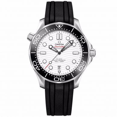 Seamster White Dial Men's Watch