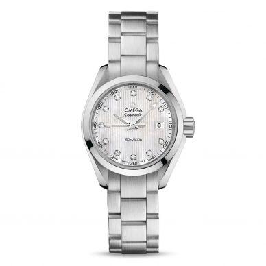 22010286054001 Omega Diamond Womens Watch Seamaster