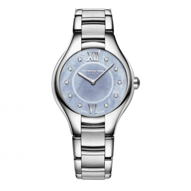 Raymond Weil Womens Mother of Pearl and Diamond Watch