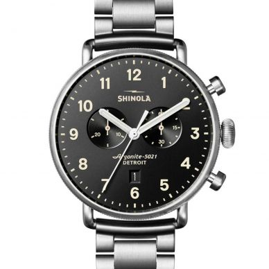 Shinola The Canfield Quartz Chronograph Mens Watch 20018334