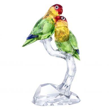 5379552 Love Birds Crystal Decoration