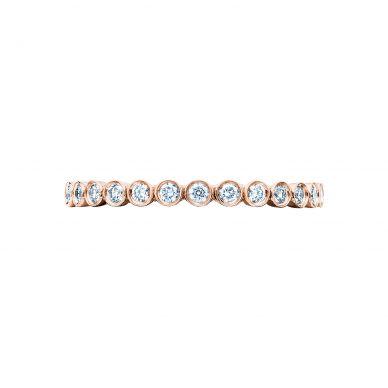 Tacori 200-2PK Rose Gold Wedding Ring for Women
