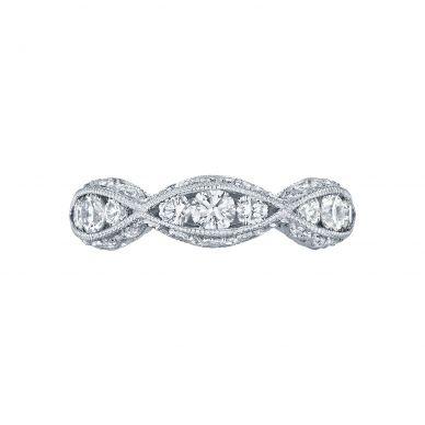 Tacori 2644B5 White Gold Wedding Ring for Women