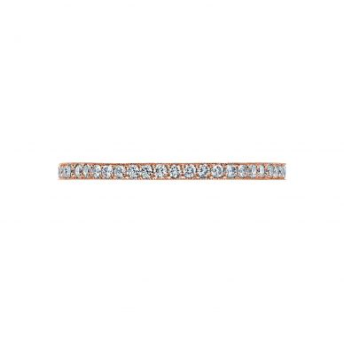 Tacori 41-15ET Rose Gold Wedding Ring for Women