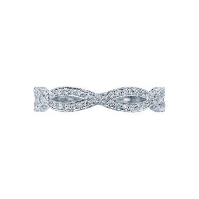 Tacori HT2528B12 White Gold Wedding Ring for Women