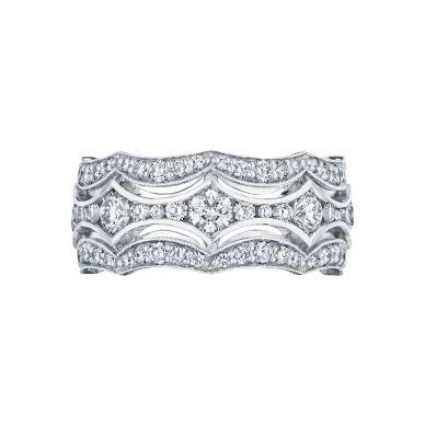 Tacori HT2621B12 White Gold Wedding Ring for Women