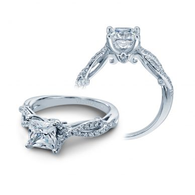 Verragio Insignia 7050-P Platinum Princess Engagement Ring