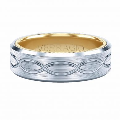 Verragio men's infinity wedding band
