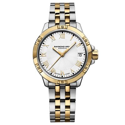 Raymond Weil Tango Collection Two Tone Mens Watch