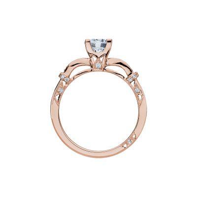 Tacori 2615RD6-PK Rose Gold Round Engagement Ring side