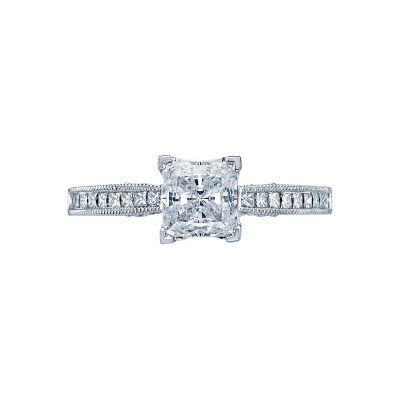 Tacori 3005 Simply Tacori Platinum Princess Cut Engagement Ring